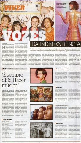 Diário de Pernambuco Molotov Independência