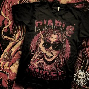 Camiseta Diablo Angel
